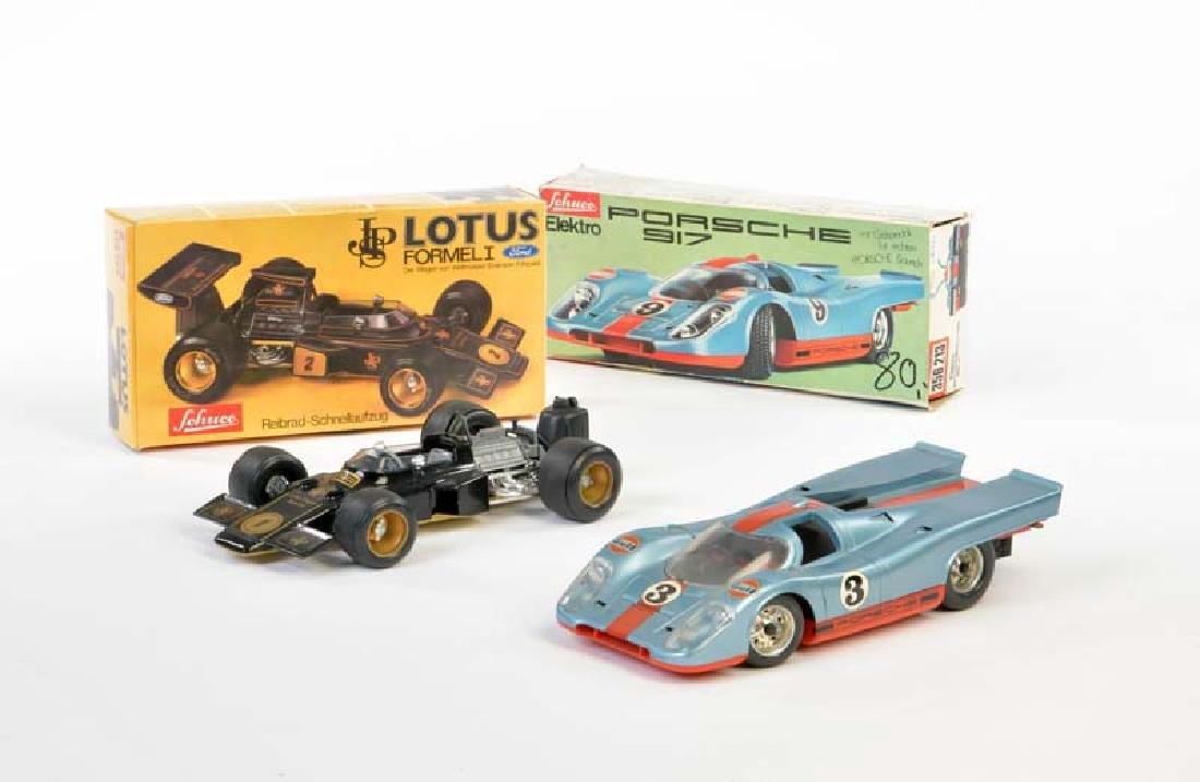 Schuco, Porsche + Lotus