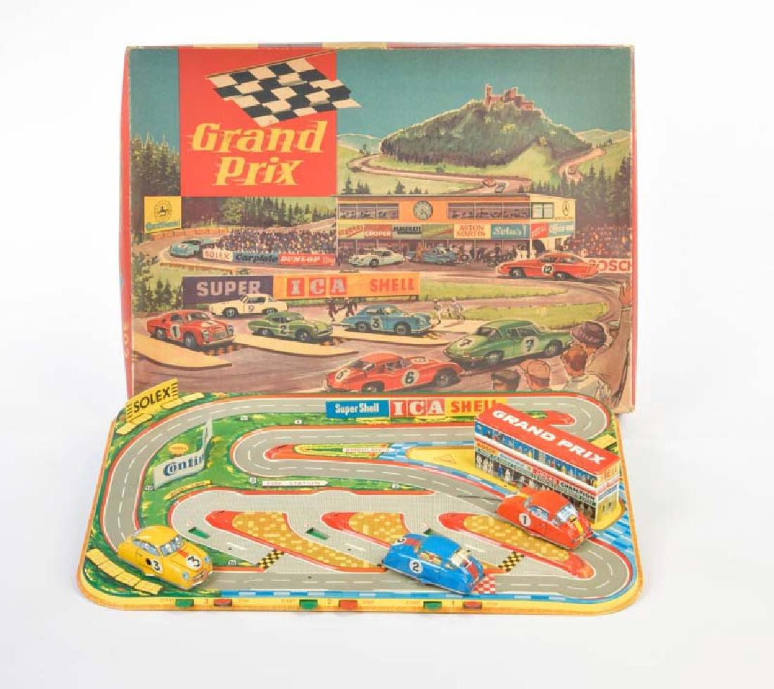Technofix, Grand Prix Bahn