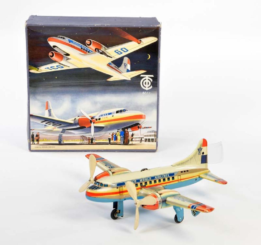 "Tippco, Flugzeug ""World Airlines"""