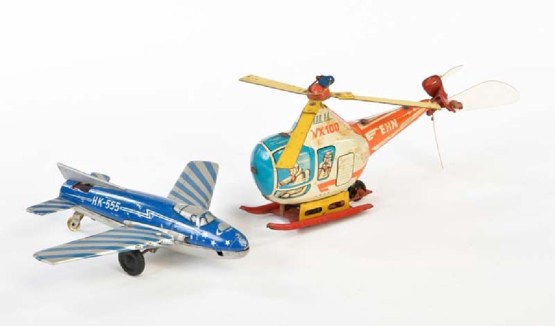 EHN, HK, Hubschrauber + Flugzeug