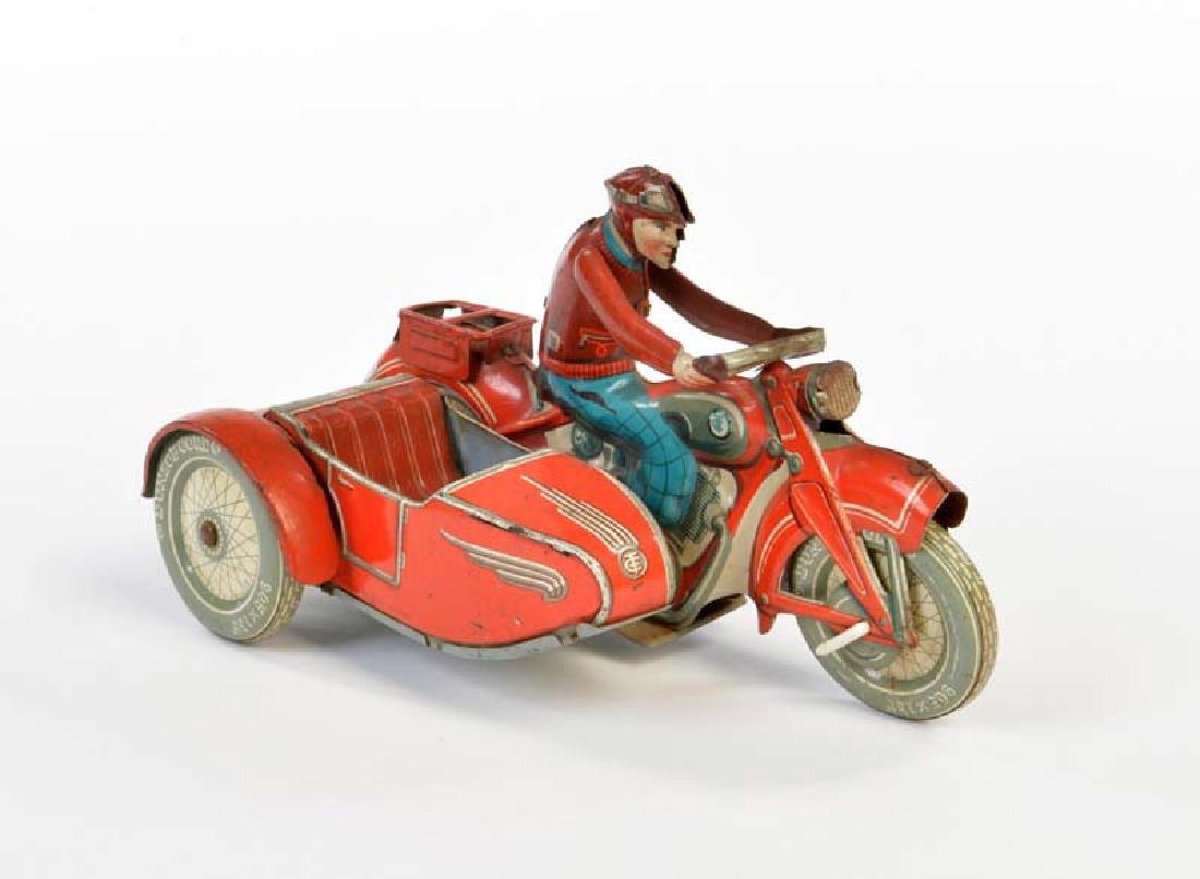 Tippco, Beiwagen Motorrad