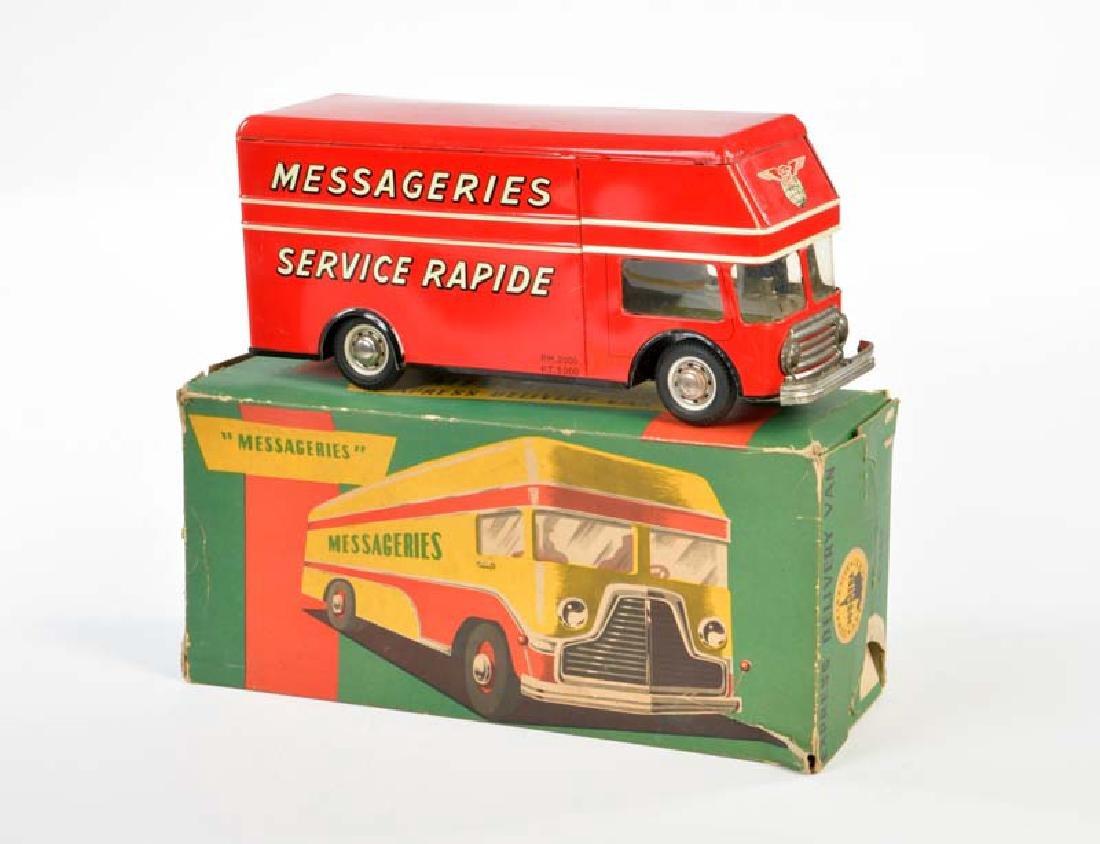 """Joustra, Bus """"Messageries Service Rapide"""""""