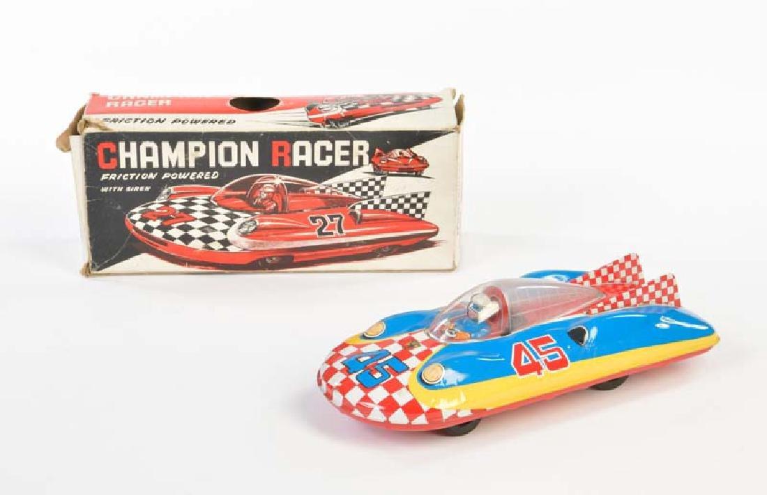 Haji, Champion Racer