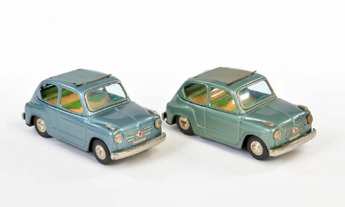 Bandai, 2x Fiat 600