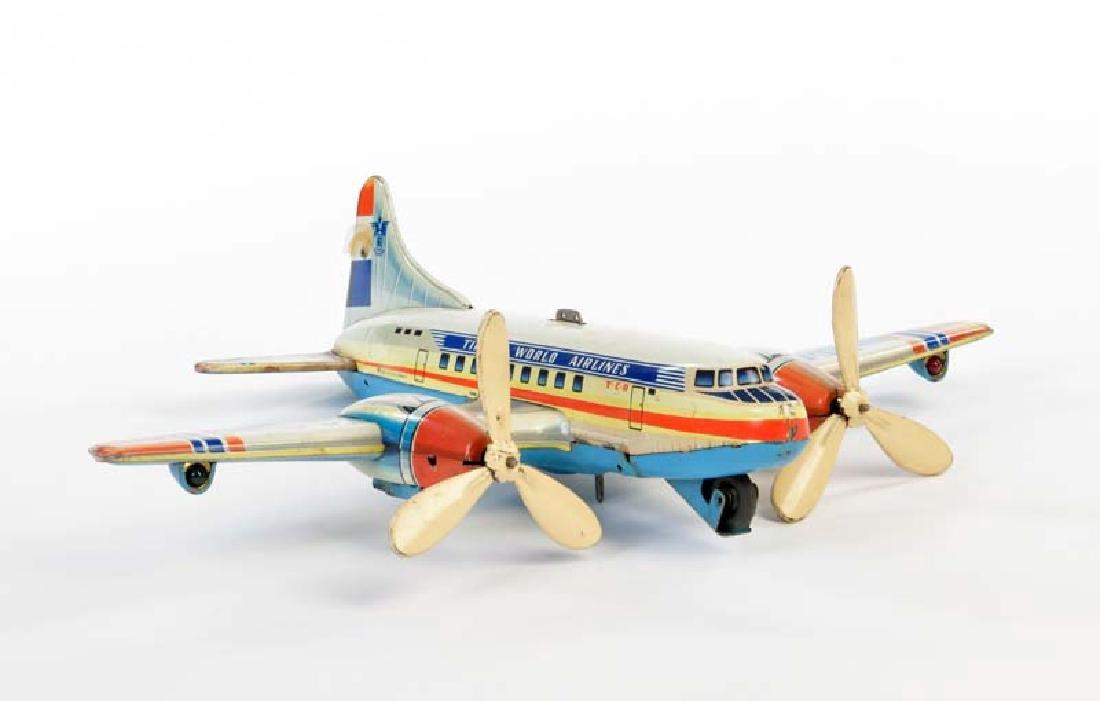 Tippco, Flugzeug