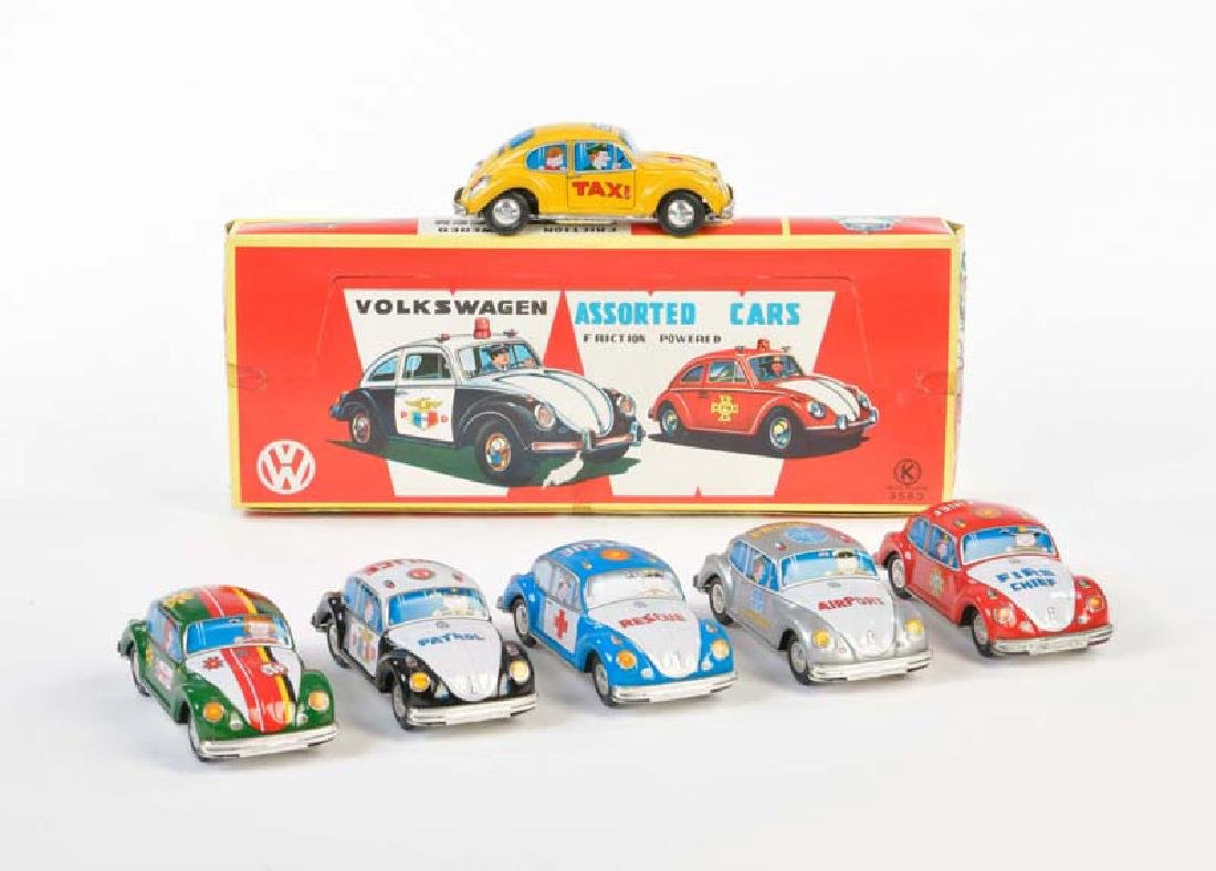 K, 6 Assorted Cars VW Kaefer