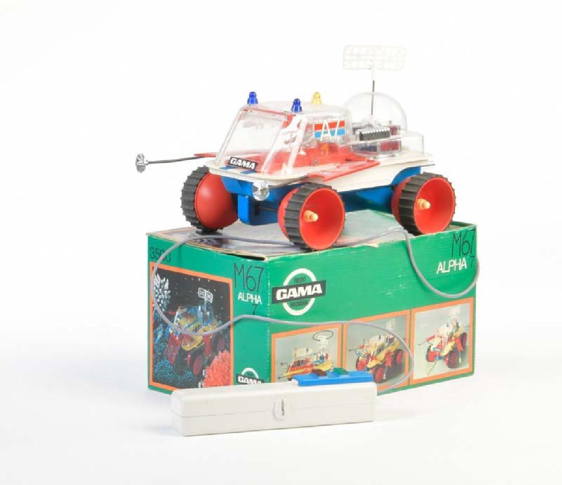 Gama, Space Fahrzeug Alpha 7
