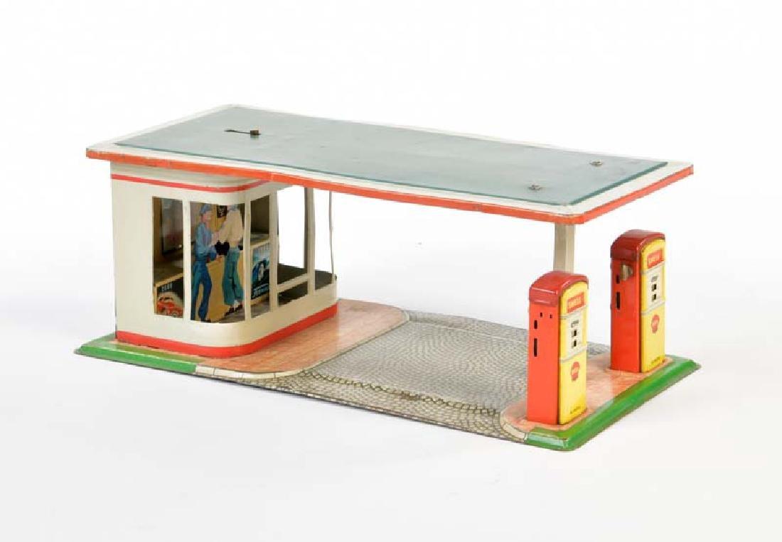 Arnold, Shell Tankstelle