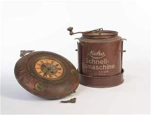 Eismaschine + Uhr