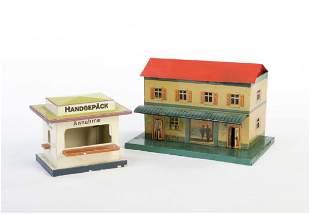 Bing, Bahnhof + Handgepaeck Schalter