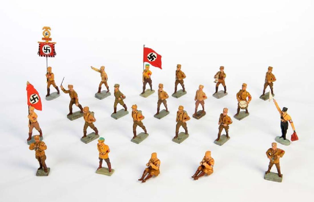 Lineol u.a., 22 SA Soldaten