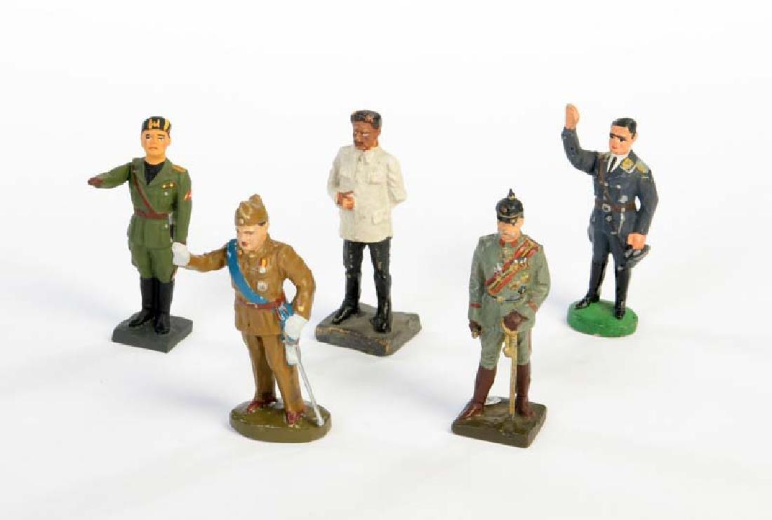 Lineol u.a., 5 politische Figuren