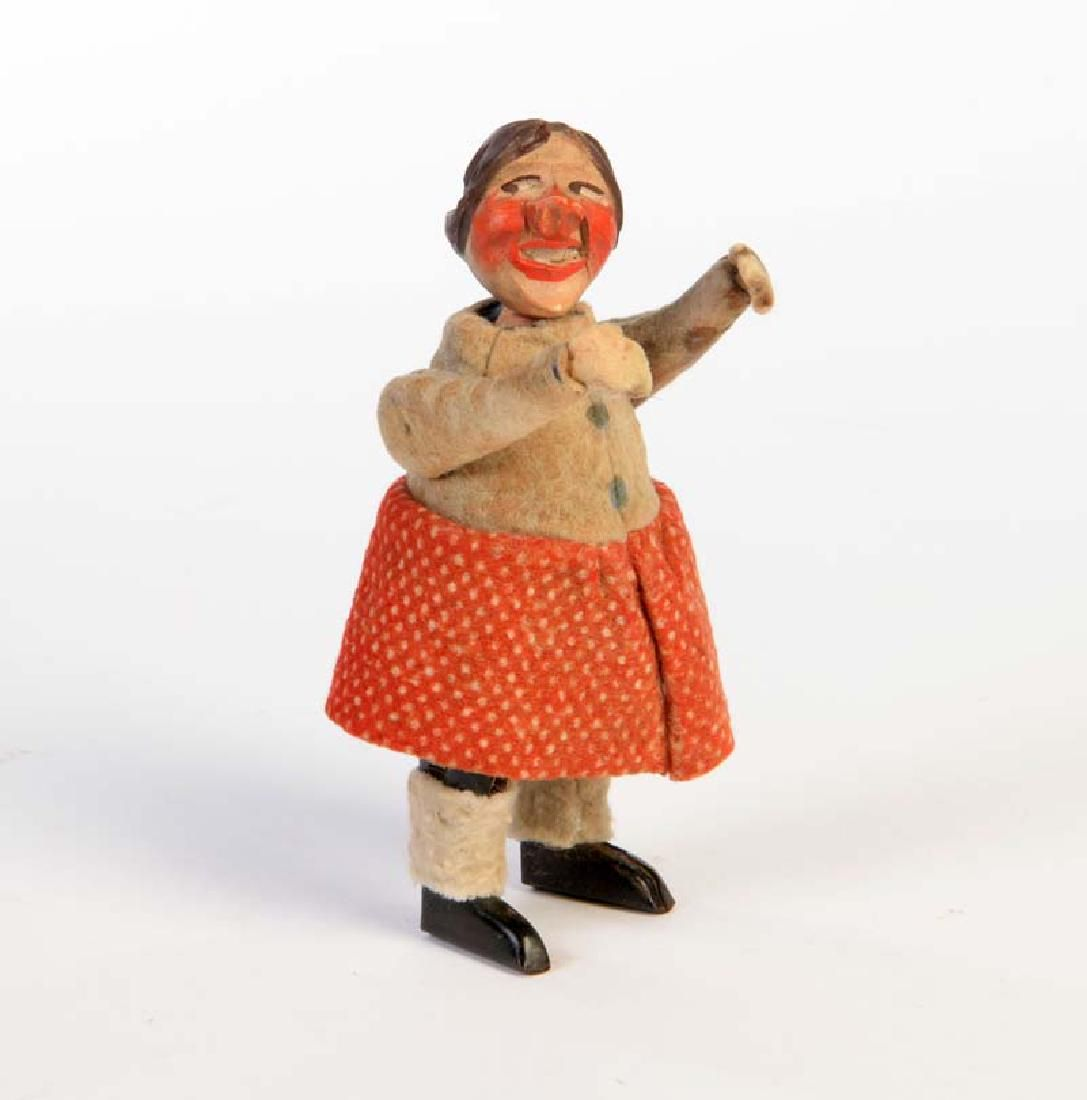 Schuco, Tanzfigur mit Holzkopf (Prototyp ?)
