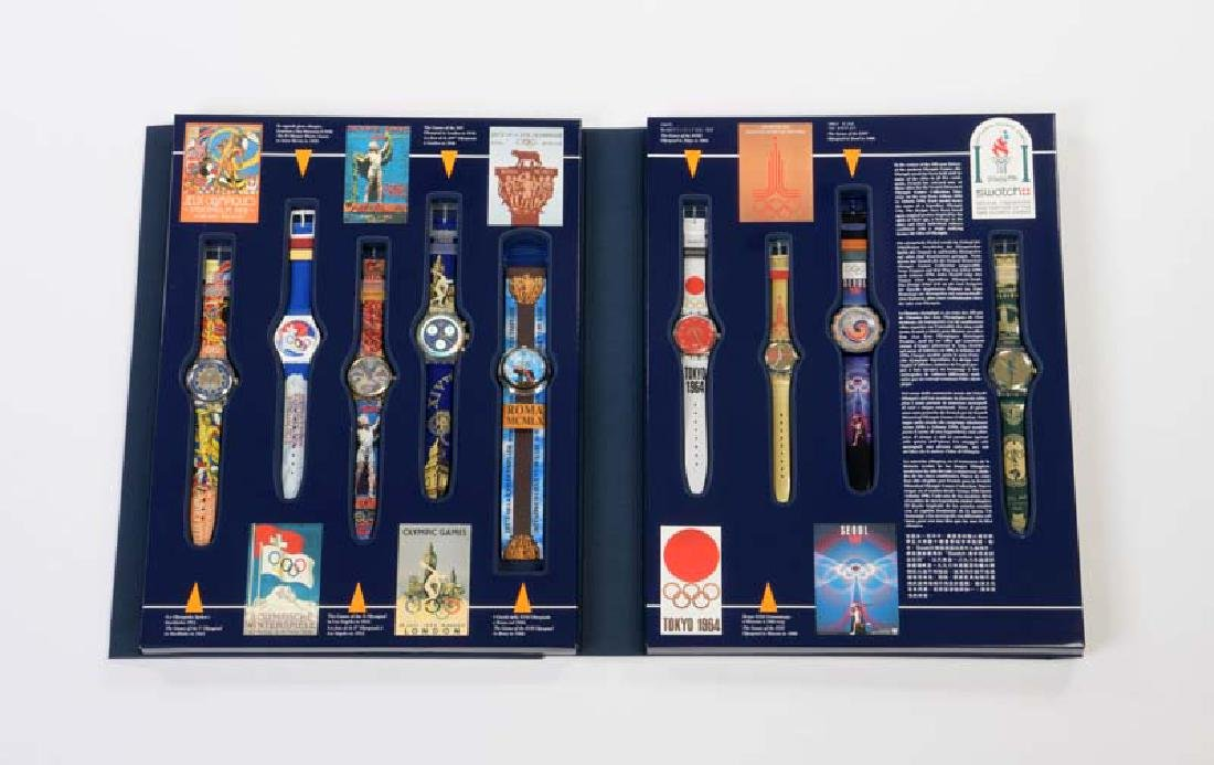 Swatch, Historical Olympic Games Collection 9 Uhren