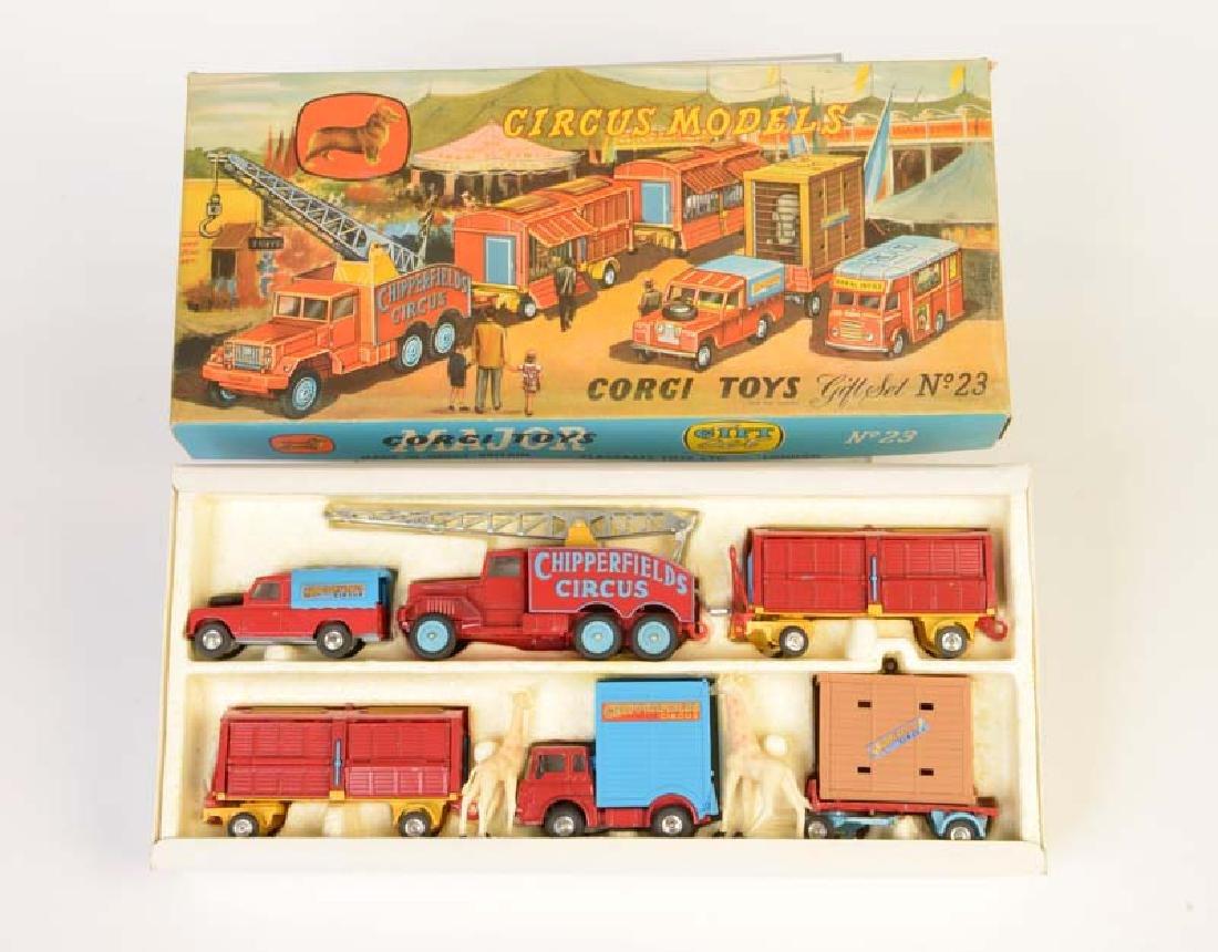 """Corgi Toys, Geschenk Set No 23 """"Circus"""""""