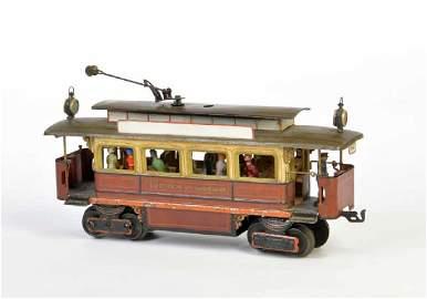 Marklin, Spur 1 Strassenbahn Motorwagen mit original