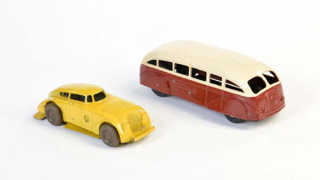 Marklin, Bus + Stromlinienwagen