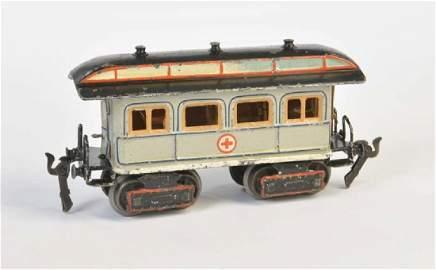 Maerklin, Uralt Sanitaetswagen mit Inneneinrichtung