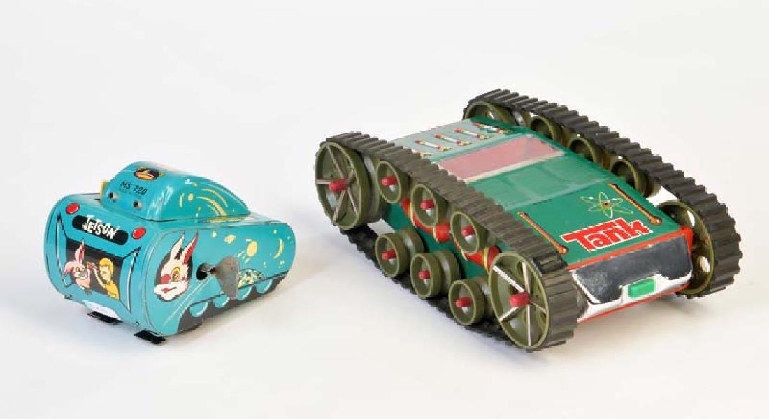 2x Space Tank ME 759 + MS 720