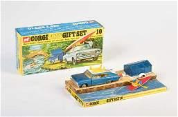 Corgi Toys, Gift Set 10 + Kajak