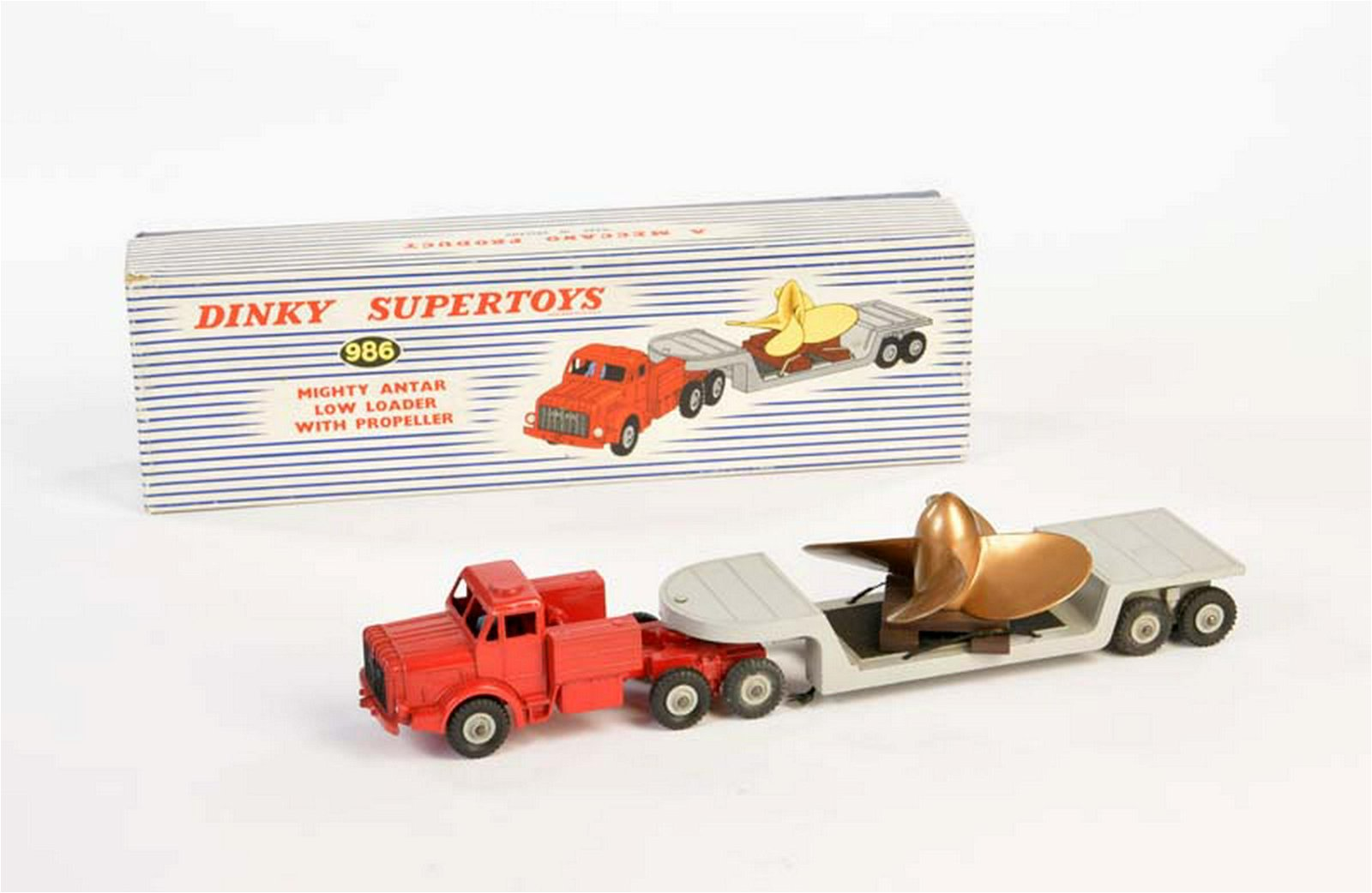 Dinky Toys, Mighty Antar - Tieflader mit Propeller