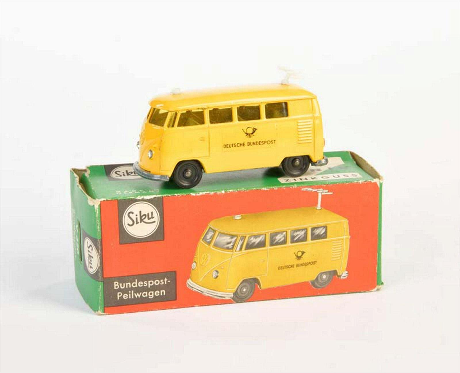 "Siku, VW ""Bundespost"" Peilwagen V-320"