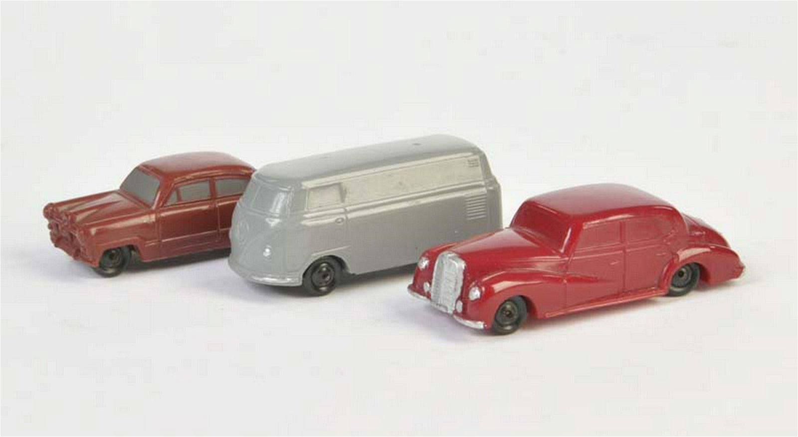 Maerklin u.a., Mercedes, Ford, VW Bus