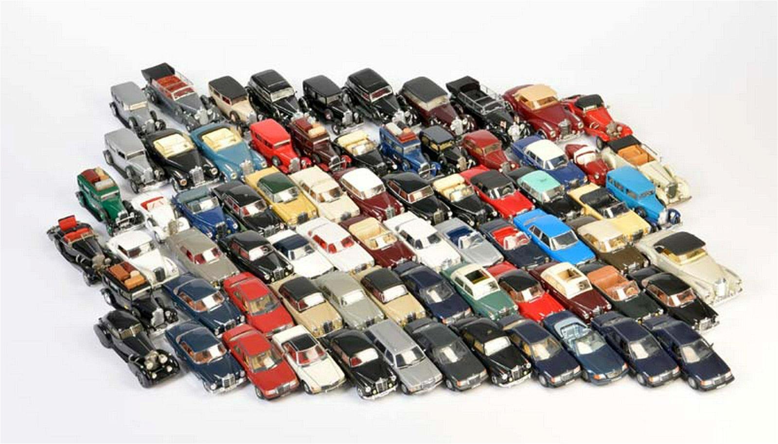 75x Mercedes (verschiedene Modelle)