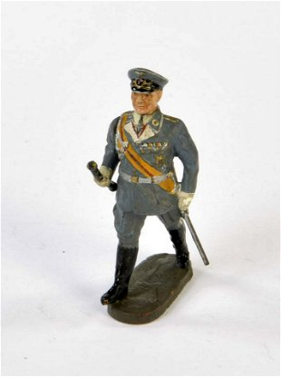 Elastolin Goering Early Luftwaffe uniform - Jun 04, 2016