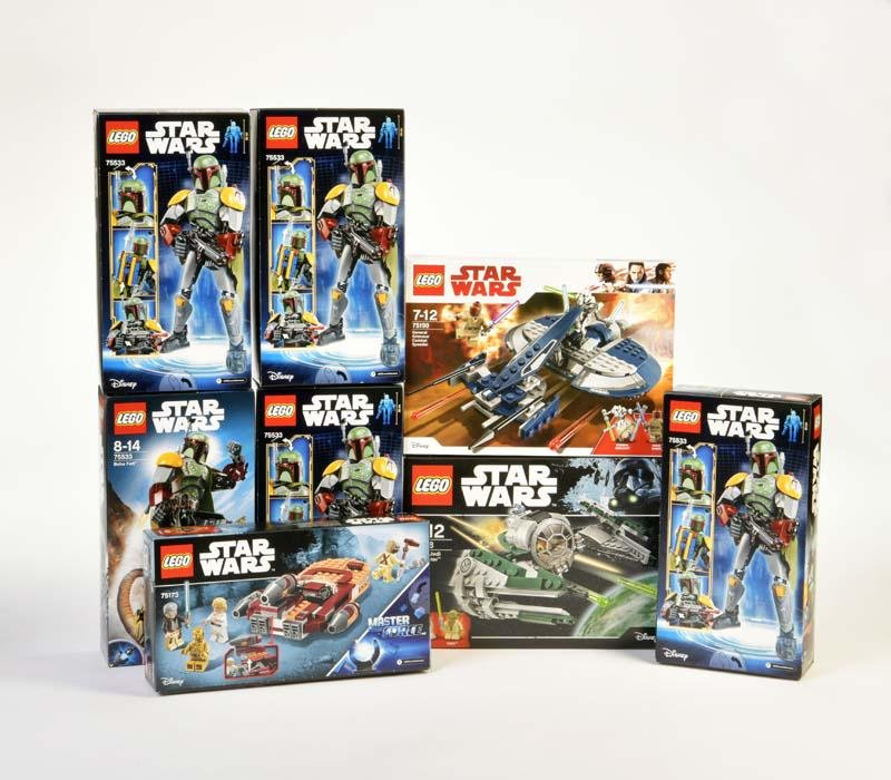 Lego, 8 Sets Star Wars