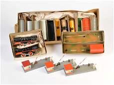 Bub, HWN, 2 Loks, 11 Waggons + 4 Bahnschranken