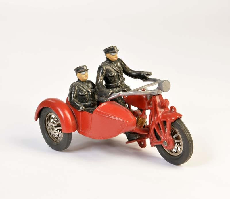 Hubley, Polizei Beiwagenmotorrad