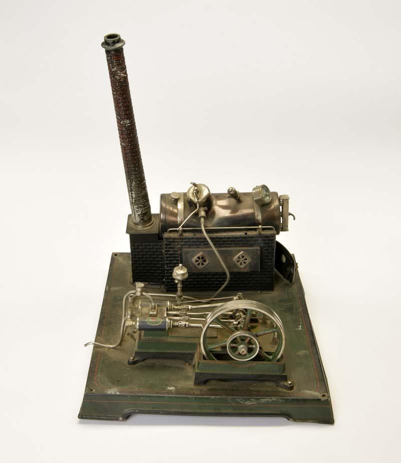 Doll, Dampfmaschine mit Doppelzylinder