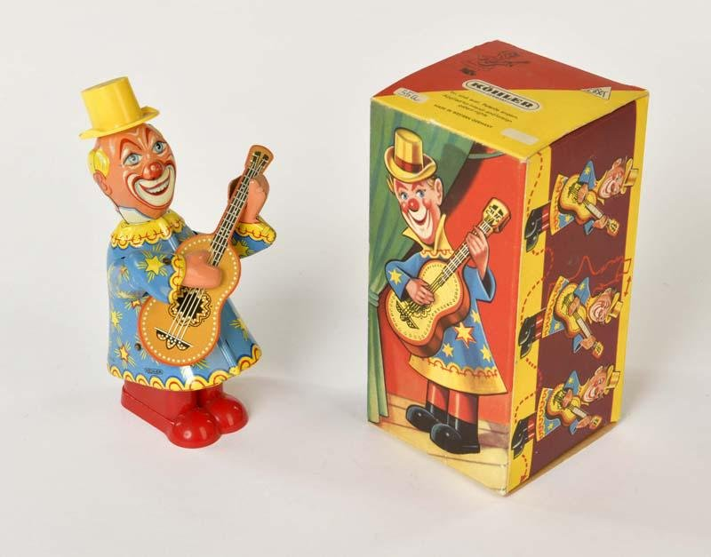 Koehler, Clown mit Gitarre