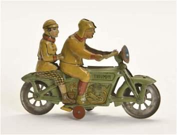 Meier, Penny Toy Triumph Motorrad