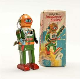 AN, Interplanetary Robot
