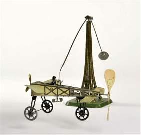 Guenthermann, Bleriot auf Eiffelturm