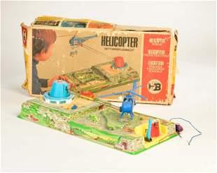 Biller, Helikopter Spiel + VW Bus No 1299