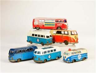 Goeso u.a., 6x VW Bus
