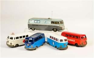 5x VW Bus
