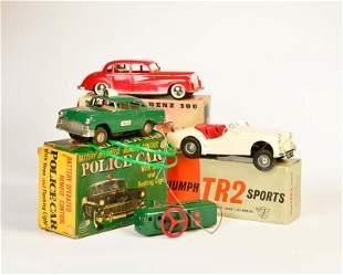 Arnold, Linemar u.a., Police Car, Triumph + MB 300