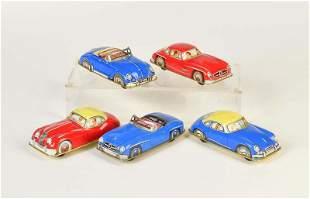 Huki, 5 Fahrzeuge (Jaguar, VW, MB u.a.)