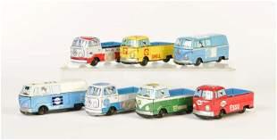 7x VW Bus Werbemodell