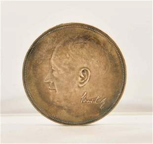 "Medaille VW Kaefer ""Fuenf Millionen Volkswagen"""