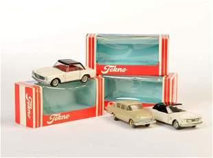 Tekno, Mercedes SL, Mustang + Opel Rekord