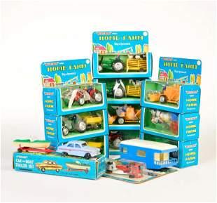 Blue Box, Konvolut Home Farm Modelle