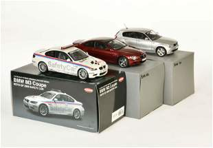 Kyosho, BMW M 6, BMW 1er + BMW M 3 Coupe Safety Car