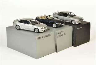 Kyosho + Minichamps, 2x BMW M 3 Coupe + BMW Z 4