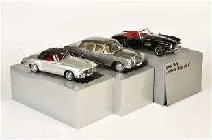 Norev, BMW 507 MB 280 SE + MB 290 SL
