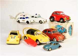 Bandai u.a., Konvolut VW Kaefer